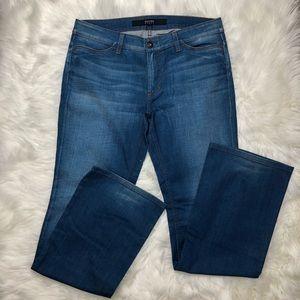 Escada Sport Medium Blue Wash Wide Leg Jeans